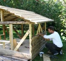 de kleine Berghut-bouw