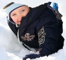 Ibons vroege liefde voor de sneeuw – januari 2009 [pagina 143]